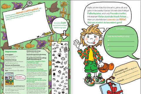 Mutmach-Buch für Kinder mit Rheuma