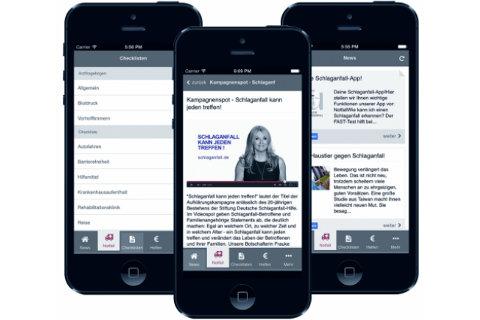 Kostenlose Schlaganfall-App
