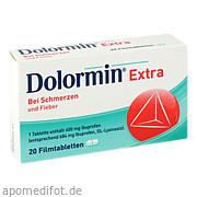 Dolormin extra Johnson & Johnson GmbH (otc)