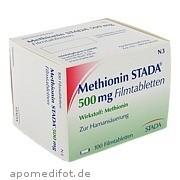 Methionin Stada 500mg Filmtabletten Stada GmbH