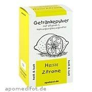 Heisse Zitrone Getränkepulver<br>mit Vitamin C