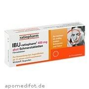 Ibu - ratiopharm 400mg<br>akut Schmerztabletten