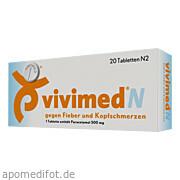 Vivimed N gegen Fieber und Kopfschmerzen Dr.  Gerhard Mann