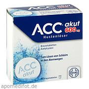 Acc akut 600 Hustenlöser<br>Brausetabletten