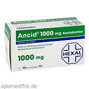 Ancid 1000mg Hexal AG