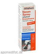 NasenSpray - ratiopharm<br>Erwachsene