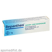 Bepanthen Augen u.  Nasensalbe Bayer Vital GmbH