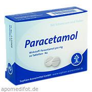 Paracetamol Sophien 500 Sophien Arzneimittel GmbH