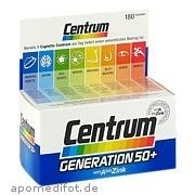 Centrum Generation 50 +  A - Zink  +  FloraGlo Lutein Pfizer Consumer Healthcare GmbH
