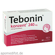 Tebonin Konzent 240mg Dr. Willmar Schwabe GmbH & Co. Kg