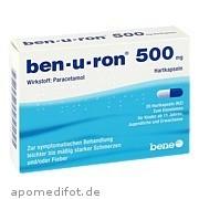ben - u - ron 500mg Kapseln bene Arzneimittel GmbH