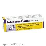 Solcoseryl akut Meda Pharma GmbH & Co. Kg