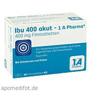 Ibu 400 akut  -  1a Pharma 1 A Pharma GmbH