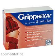 GrippHEXAL 500mg/30mg<br>Granulat
