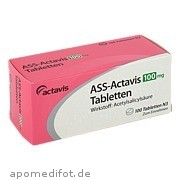 Ass - Actavis 100mg Tabletten Puren Pharma GmbH & Co.  Kg
