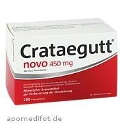 Crataegutt Novo 450mg Quartalspackung Dr. Willmar Schwabe GmbH & Co. Kg