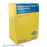Magnesium Verla N Konzentrat Verla - Pharm Arzneimittel GmbH & Co.  Kg