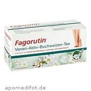 Fagorutin Venen -<br>Aktiv - Buchweizen -<br>Tee