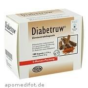 Diabetruw Zimtkapseln ab 33,78 Euro