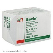 Gazin Kompresse 10x10cm<br>8fach Op
