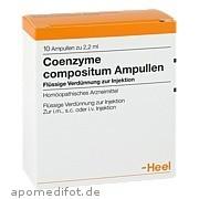 Coenzyme Comp Biologische Heilmittel Heel GmbH