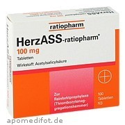 HerzASS - ratiopharm 100 mg ratiopharm GmbH