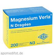 Magnesium Verla N<br>Dragees