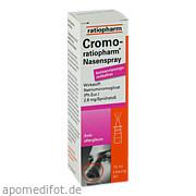 Cromo Ratiopharm Nasenspray kons. frei ab 1,75 Euro