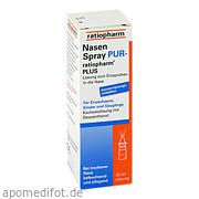 NasenSpray Pur -<br>ratiopharm Plus