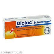 Diclac Schmerzgel 1% Gel Hexal AG