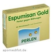 Espumisan Gold Perlen<br>gegen Blähungen