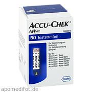 Accu - Chek Aviva Teststreifen<br>Plasma Ii