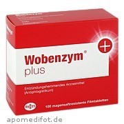 Wobenzym Plus Mucos Pharma GmbH & Co.  Kg
