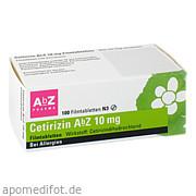 Cetirizin AbZ 10mg Filmtabletten AbZ Pharma GmbH