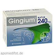 Gingium extra 240mg<br>Filmtabletten
