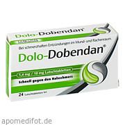 Dolo - Dobendan 1.<br>4mg/10mg