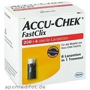 Accu - Chek Fastclix Lanzetten Roche Diabetes Care Deutschland GmbH