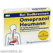 Omeprazol Heumann 20mg<br>b Sodbr. magensaftr. Hartk.<br>