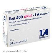 Ibu 400 akut  -  1a - Pharma 1 A Pharma GmbH
