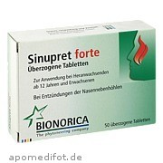 Sinupret forte Dragees EurimPharm Arzneimittel GmbH