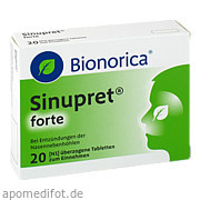 Sinupret forte Dragees Bionorica Se