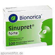 Sinupret forte Dragees<br>