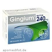 Gingium extra 240mg Filmtabletten Hexal AG