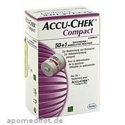 Accu - Chek Compact Teststreifen Docpharm Arzneimittelvertrieb GmbH&Co. Kg aA