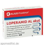 Loperamid Al akut<br>