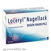 Loceryl Nagellack gegen<br>Nagelpilz