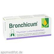 Bronchicum Thymian Lutschtabletten Mcm Klosterfrau Vertr.  GmbH