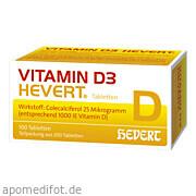 Vitamin D 3 Hevert<br>