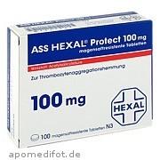 Ass Hexal Protect 100mg magensaftresistente Tab Hexal AG