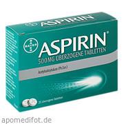 Aspirin 500mg überzogene<br>Tabletten